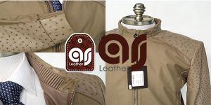 ostrich leather clothes