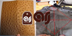 One foot leather ostrich price