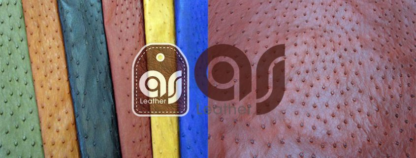 ostrich leather Center