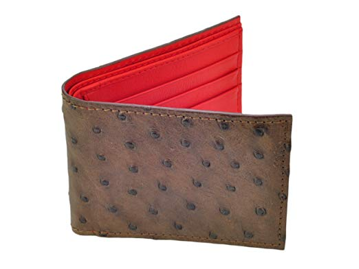 Finest quality Ostrich leather wallet