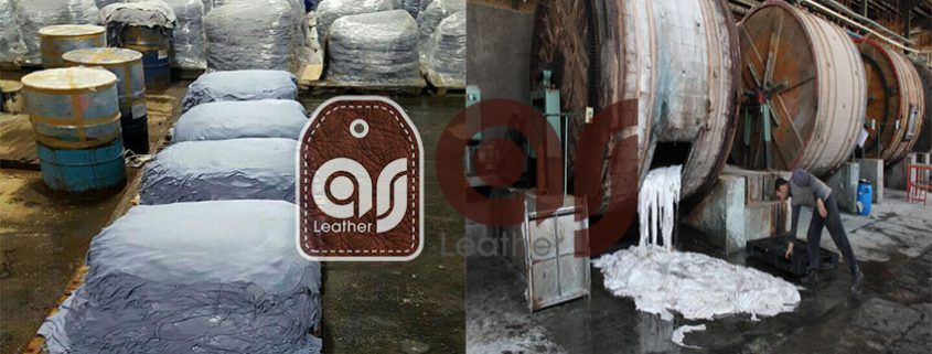 Leather manufacturing factory
