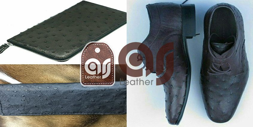Trade the ostrich leather products