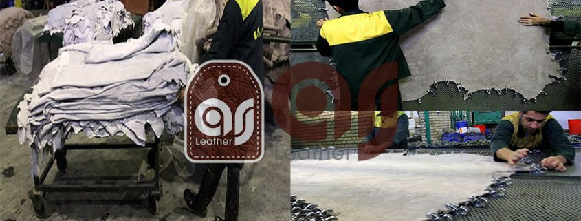 High quality cow crust leather