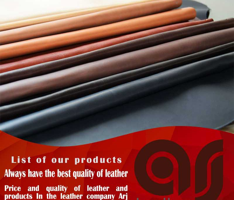 types trade of Turkey natural leather in the world